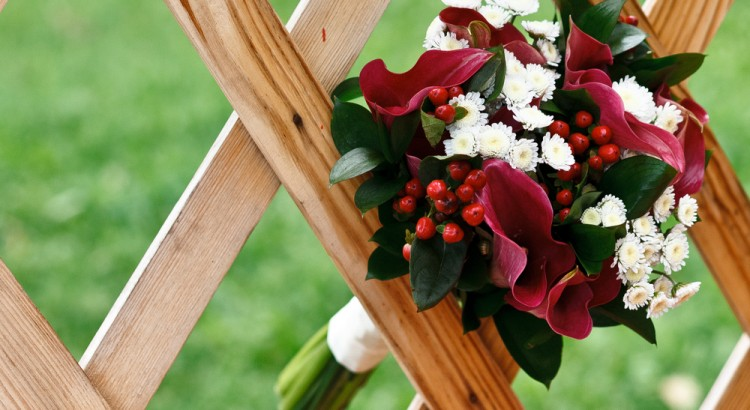 image of a beautiful wedding bouquet
