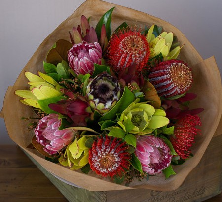 Image of a Birthday Celebration Bouquet by Florist with Flowers