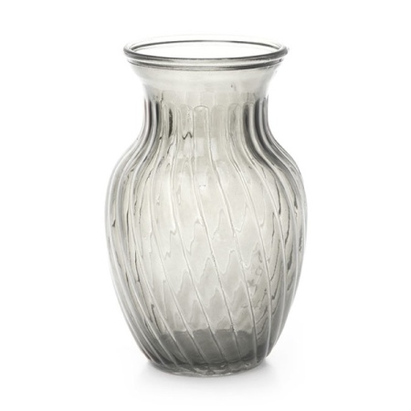 Country Glass Vase 20cm
