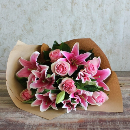 Stylish Pink Bouquet