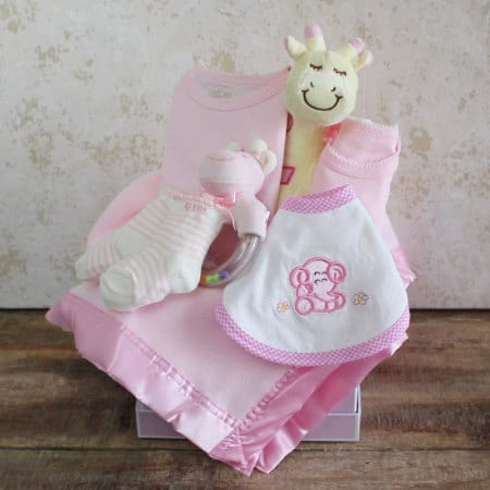 Baby Girl`s First Gift