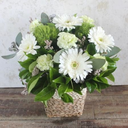 Pure Flower Basket