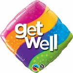 Get Well Foil Balloon 18