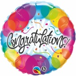 Congratulations Foil Balloon 18