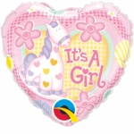 It`s a Girl Foil Balloon 18