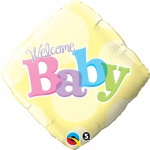Welcome Baby Foil Balloon 18