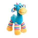 Giraffe with Stripes Blue 30cm